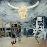 Destruction of humanity by Aziz Anzabi, Painting, Oil and Acrylic on Canvas