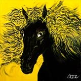 Shergar by Aziz Anzabi, Painting, Oil on canvas